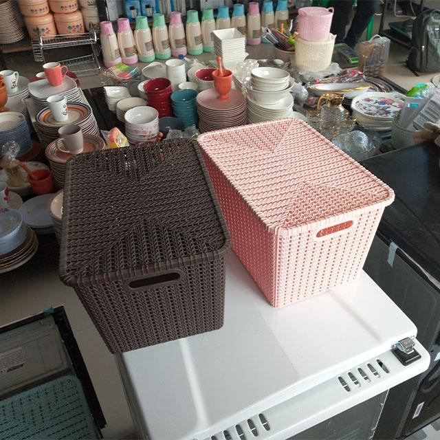 DeMo - Plastic large cloth bin