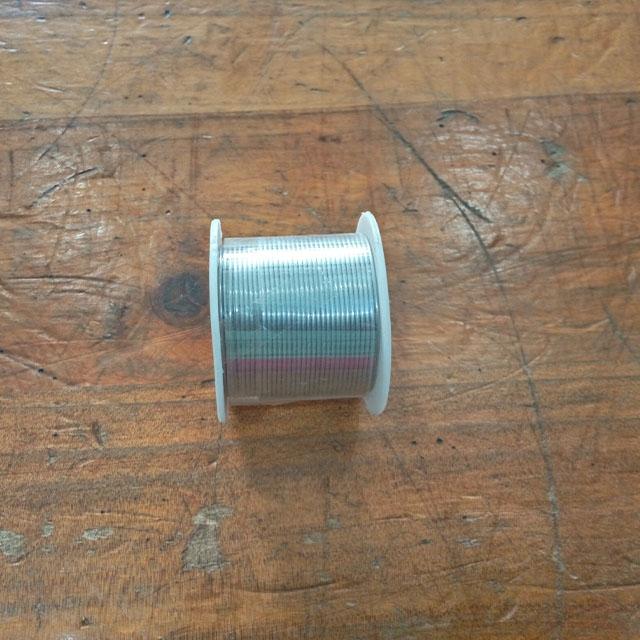 DeMo - Solder wire, Alloy 60/40 & DIA 1.0mm (1 meter length