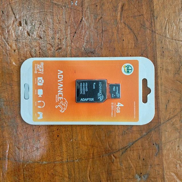 DeMo - 4GB Memory card