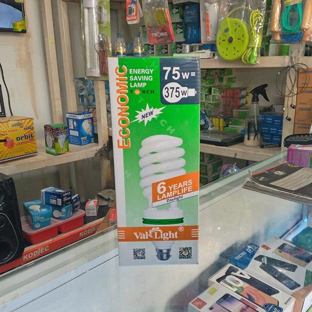 DeMo - 75W pin bulb (Economic)