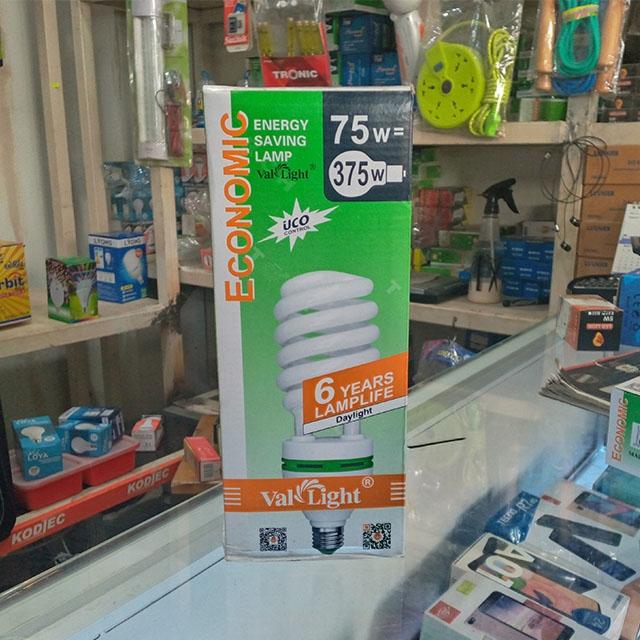 DeMo - 75W round bulb (Economic)