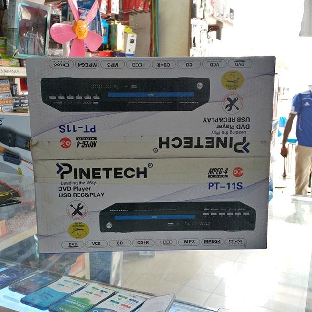 DeMo - Pinetech DVD player