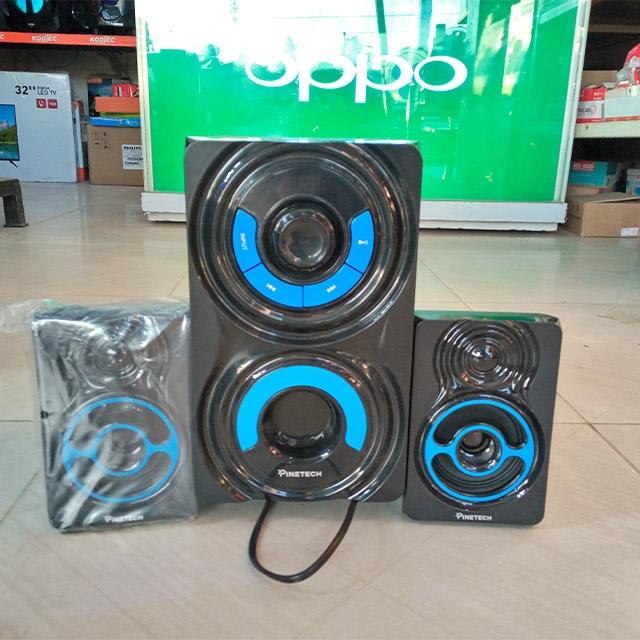 DeMo - Pinetech 2 speaker Music system