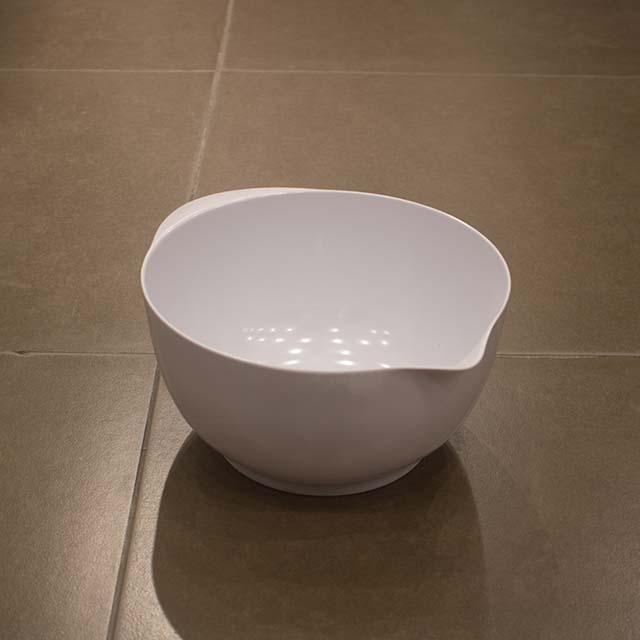 Little more white bowl